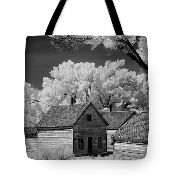 Ghost Town Bannack, Mt  Tote Bag