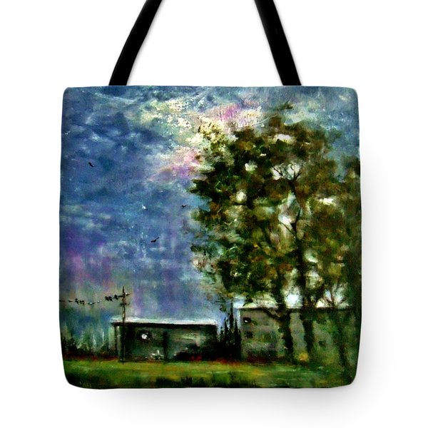 Ghost Town.. Tote Bag