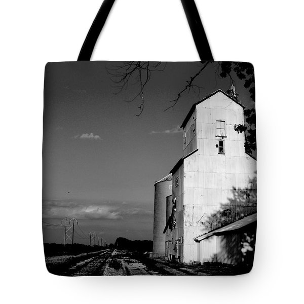 Ghost Town Tote Bag by Ed Smith