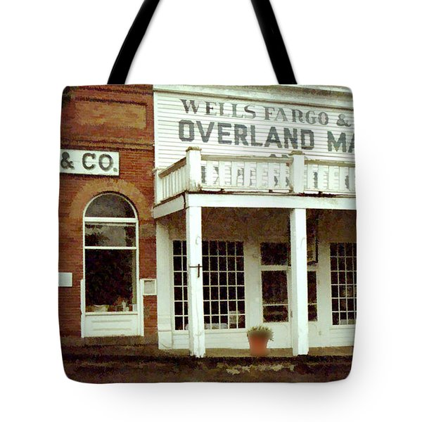 Ghost Town Tote Bag by Gary Baird