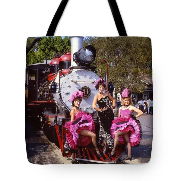 Ghost Town Girls Tote Bag