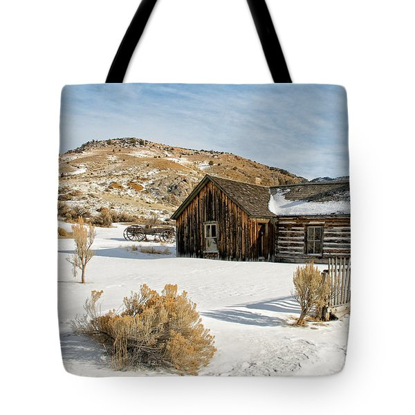 Ghost Town Winter Tote Bag