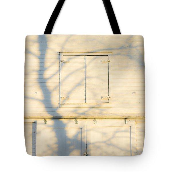 Ghost Tree Tote Bag