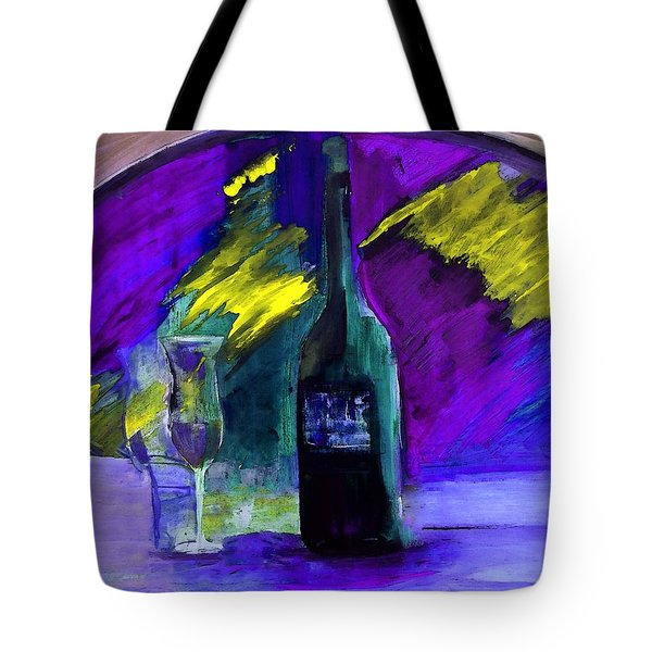 Tote Bag featuring the painting Ghost Wine by Lisa Kaiser
