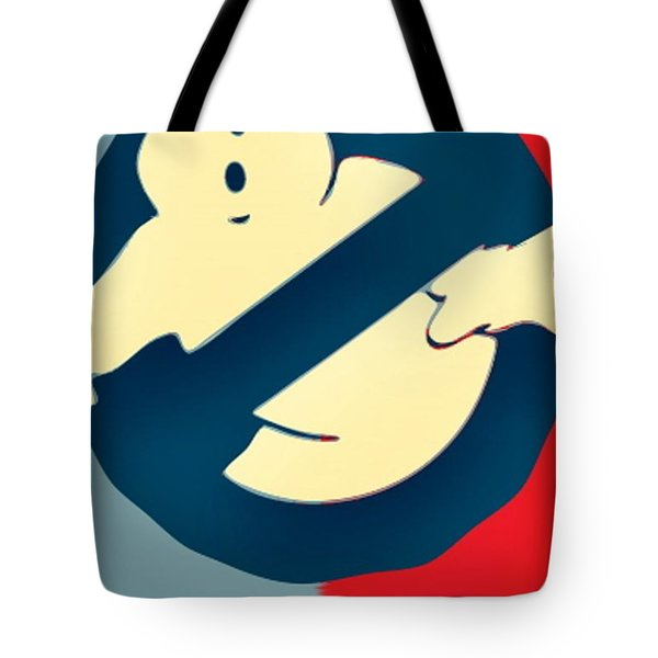 Ghostbusters Tote Bag by Paul Van Scott