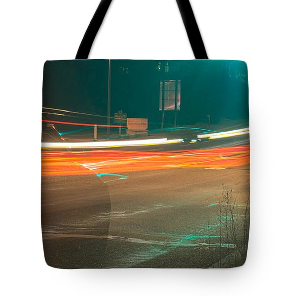Ghostly Cars Tote Bag