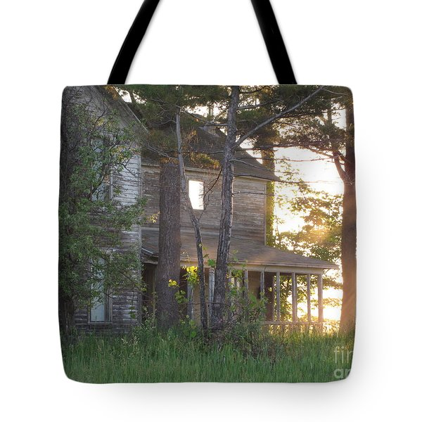 Ghostly Light Tote Bag