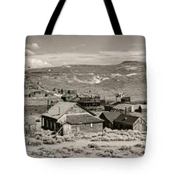 Ghostly Panorama Tobacco Tote Bag
