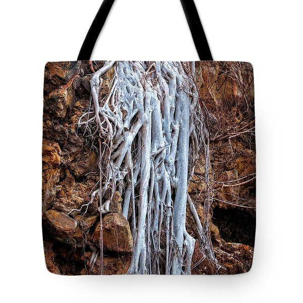 Ghostly Roots Tote Bag by Christopher Holmes
