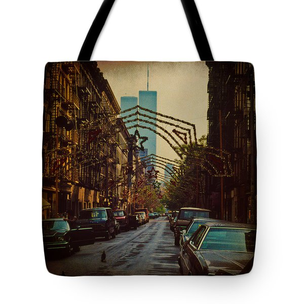 Ghosts Tote Bag by Chris Lord
