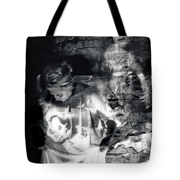 Ghosts Colonial 1 Tote Bag