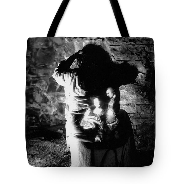 Ghosts Colonial 3 Tote Bag
