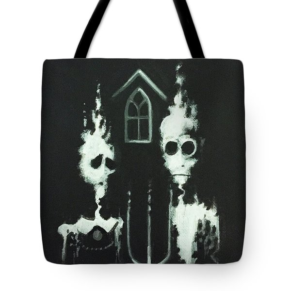 Ghosts Of American Gothic Tote Bag