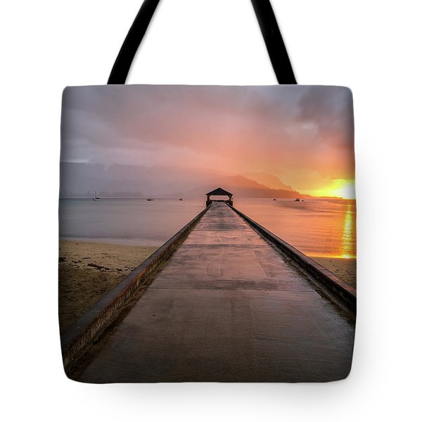 Ghosts Of Hanalei Tote Bag