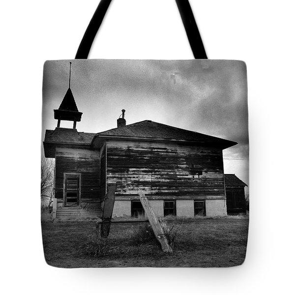 Ghosts Of Laughter In Corinth North Dakota Tote Bag