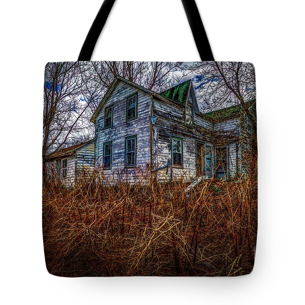 Ghosts Of The Past Tote Bag