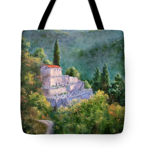 Ghosts Of The Peloponnese Tote Bag
