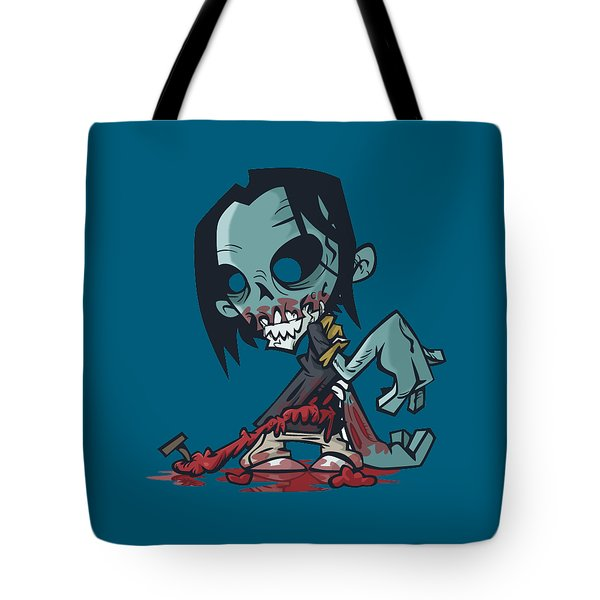 Ghoul T-shirt Tote Bag