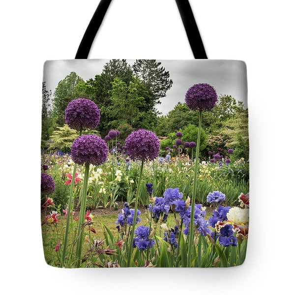 Giant Allium Guards Tote Bag