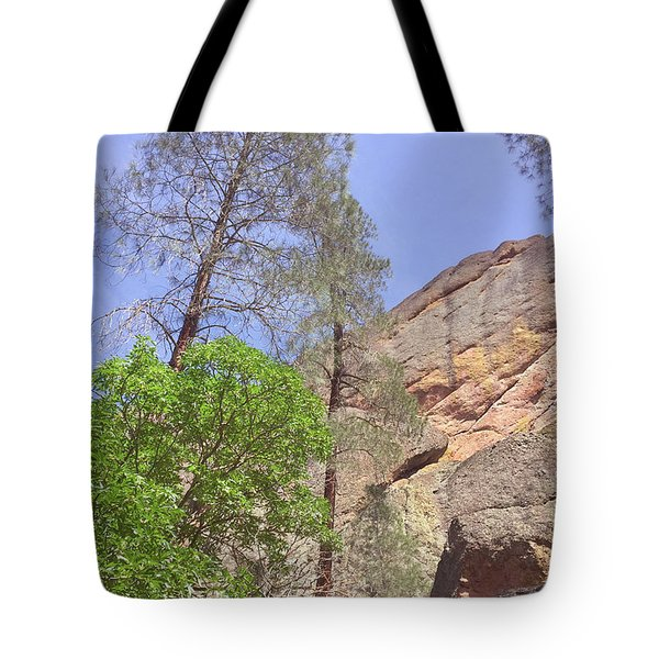 Tote Bag featuring the photograph Giant Boulders by Art Block Collections