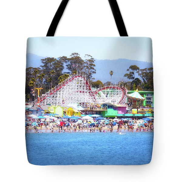 Life Is Like A Rollercoaster Tote Bag