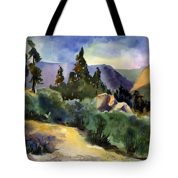 Giant Gap From Iron Point Tote Bag