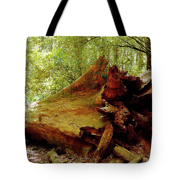Giant Has Lived Its Life Tote Bag by Lexa Harpell