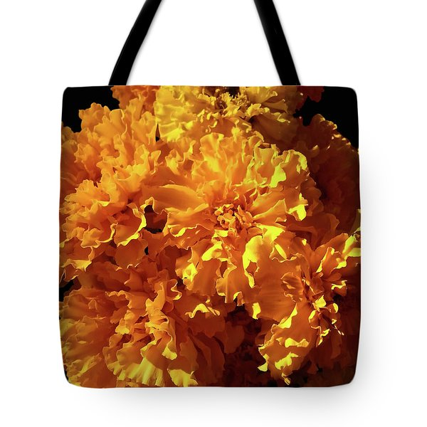 Giant Marigolds Tote Bag