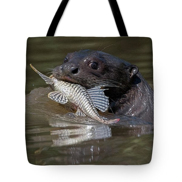 Giant Otter #1 Tote Bag
