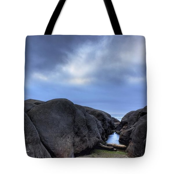Giant Rocks  Tote Bag