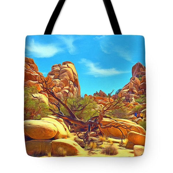 Giant Spider Tote Bag