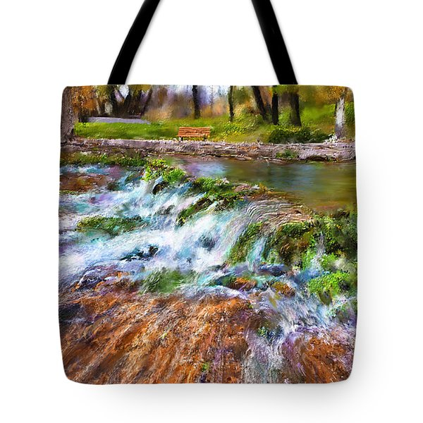 Giant Springs 2 Tote Bag