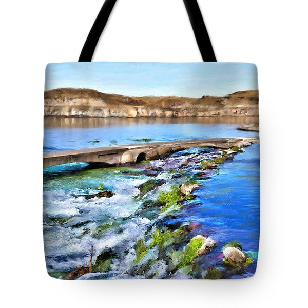 Giant Springs 3 Tote Bag