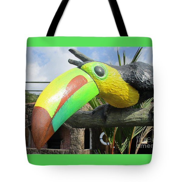 Giant Toucan Tote Bag by Randall Weidner
