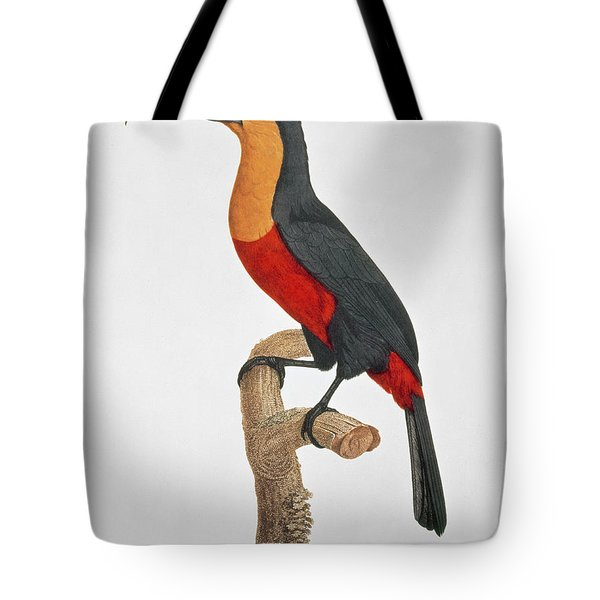 Giant Touraco Tote Bag by Jacques Barraband
