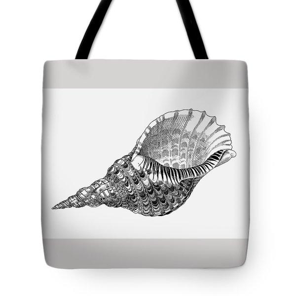 Giant Triton Shell Tote Bag