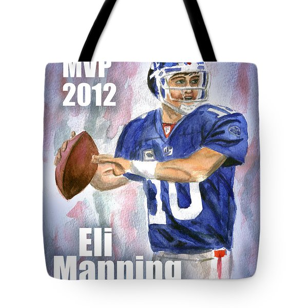 Giants Win Tote Bag