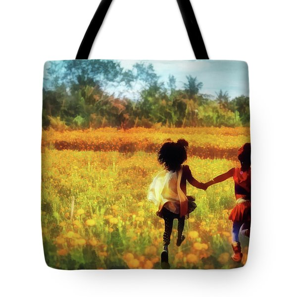 Gia's Field Of Dreams Tote Bag