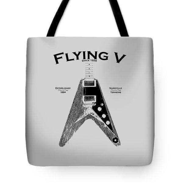 Gibson Flying V Tote Bag