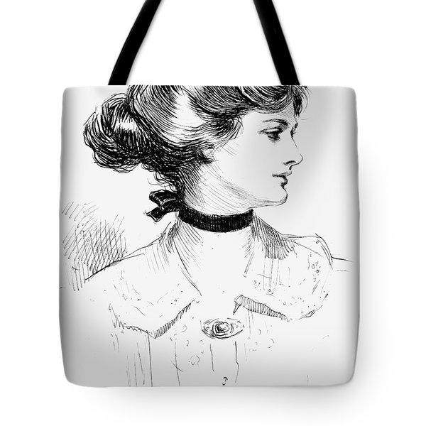Gibson: Gibson Girl, 1905 Tote Bag