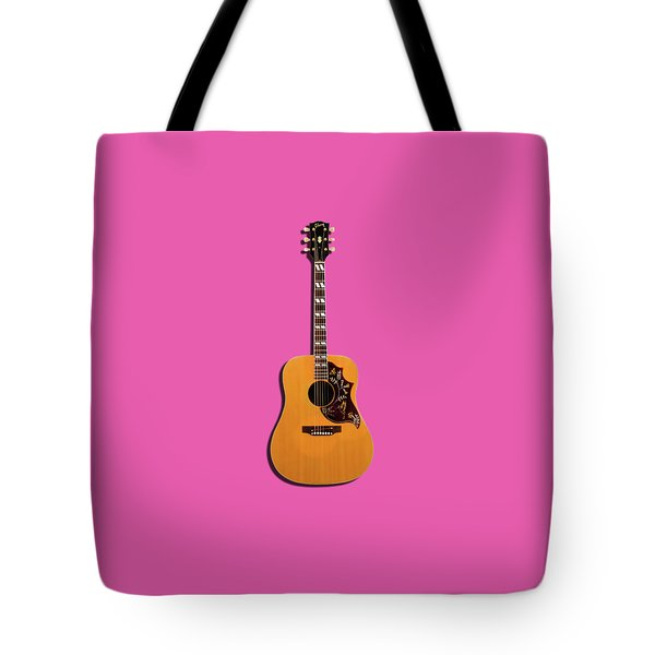 Gibson Hummingbird 1968 Tote Bag by Mark Rogan