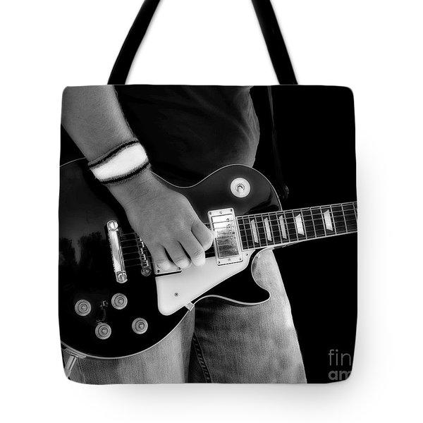 Gibson Les Paul Guitar  Tote Bag by Randy Steele