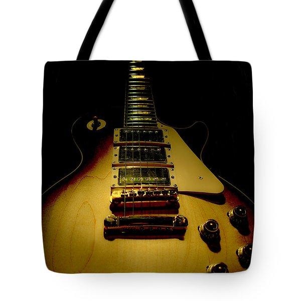 Guitar Triple Pickups Spotlight Series Tote Bag