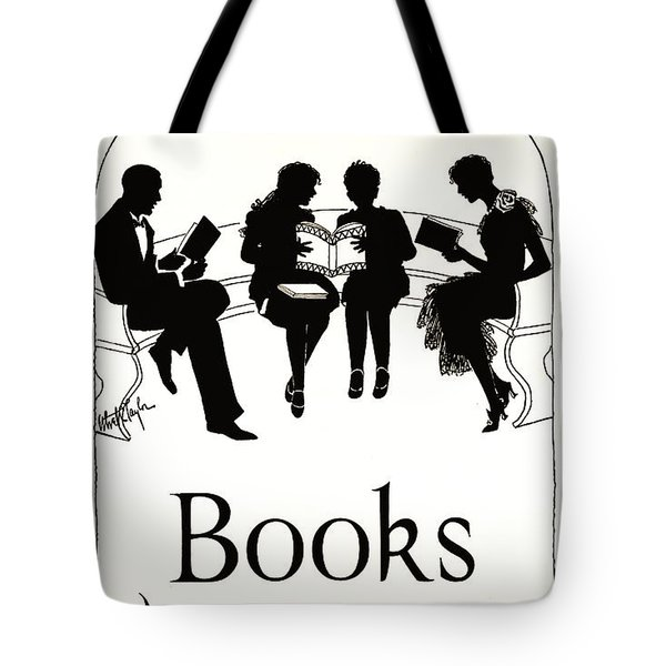 Tote Bag featuring the photograph Gift Books 1920 by Padre Art