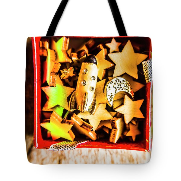 Gift Boxes And Astronomy Toys Tote Bag