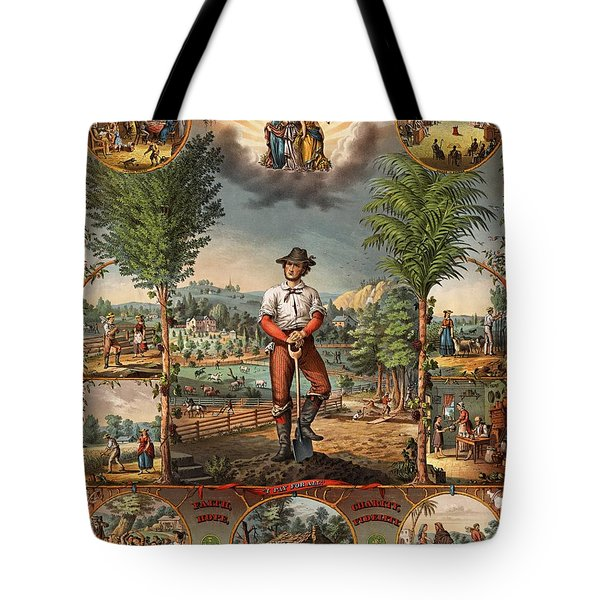 Gift For The Grangers Promotional Poster 1873 Tote Bag