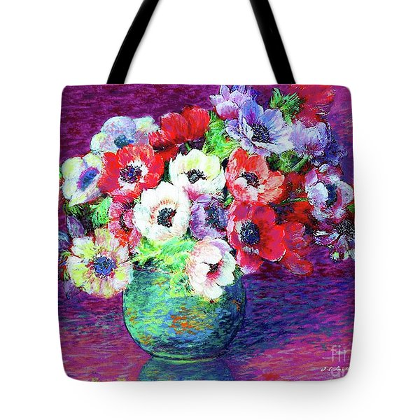 Gift Of Anemones Tote Bag