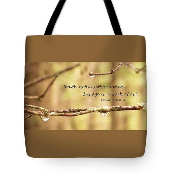 Gift Of Art Tote Bag