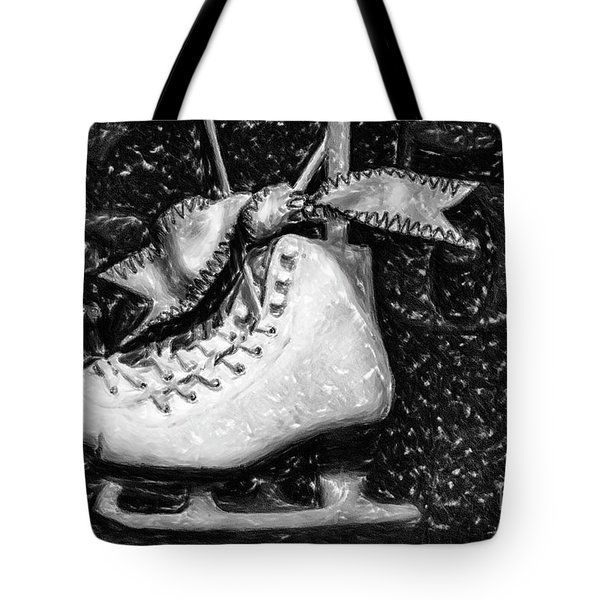Gift Of Ice Skating Tote Bag