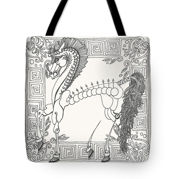 Gift Of The Greeks Tote Bag by Melinda Dare Benfield